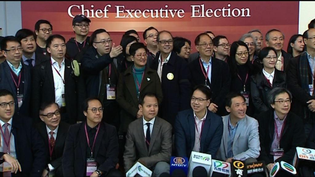 泛民普遍投票予曾俊華