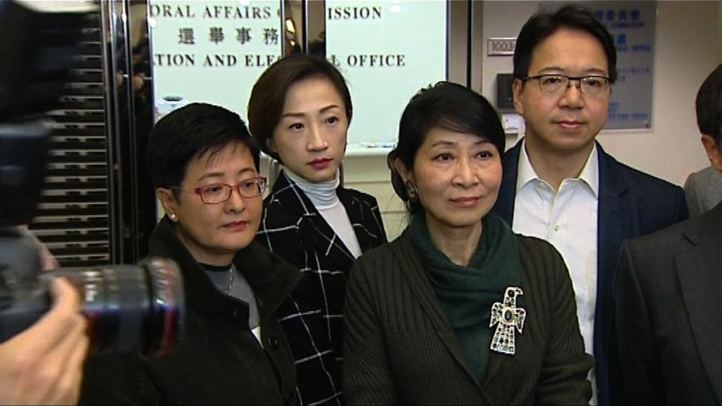 選舉主任曾就參選資格尋求律政司意見