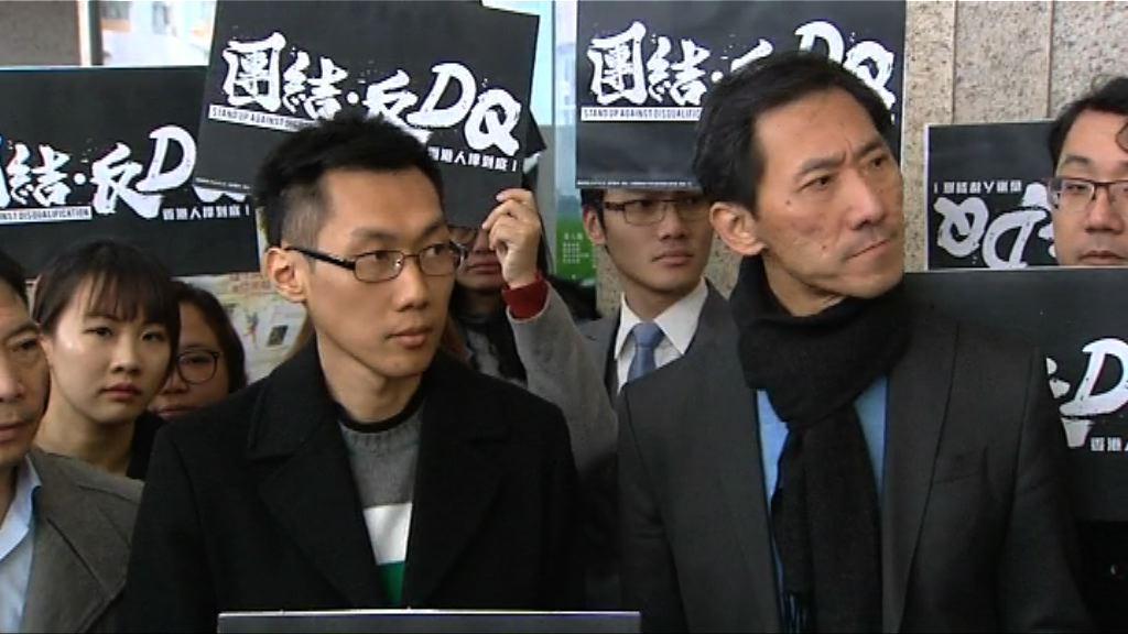 姚松炎獲確認提名有效 袁海文退選