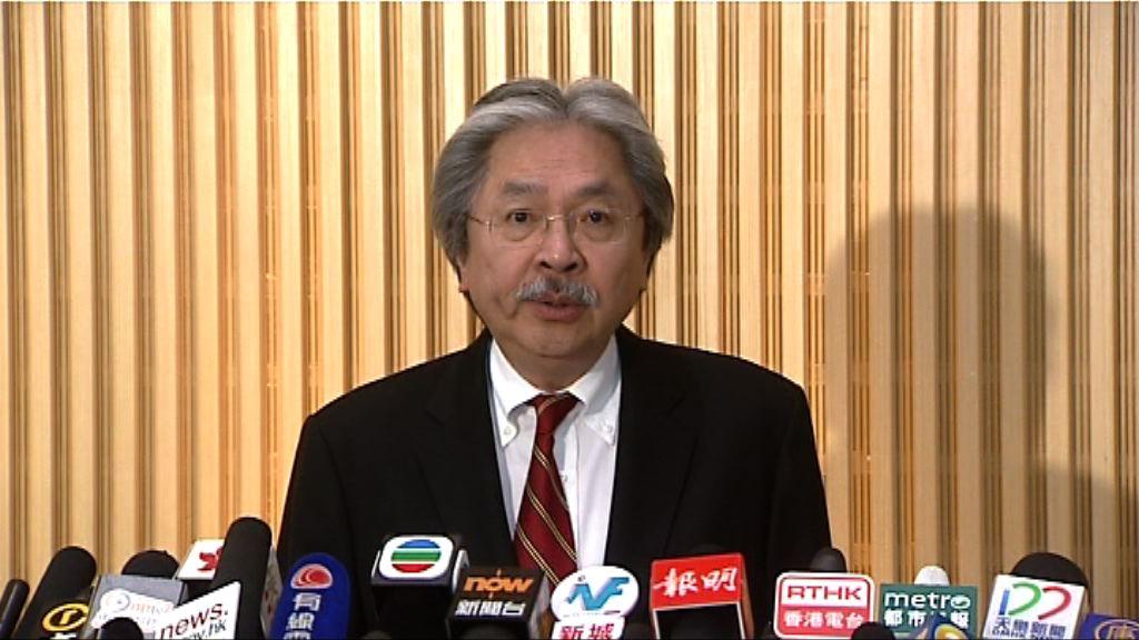 曾俊華:優先考慮出席選委及新聞界選舉論壇