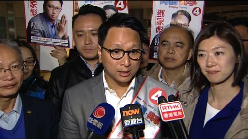 鄧家彪:低投票率未必對建制有利