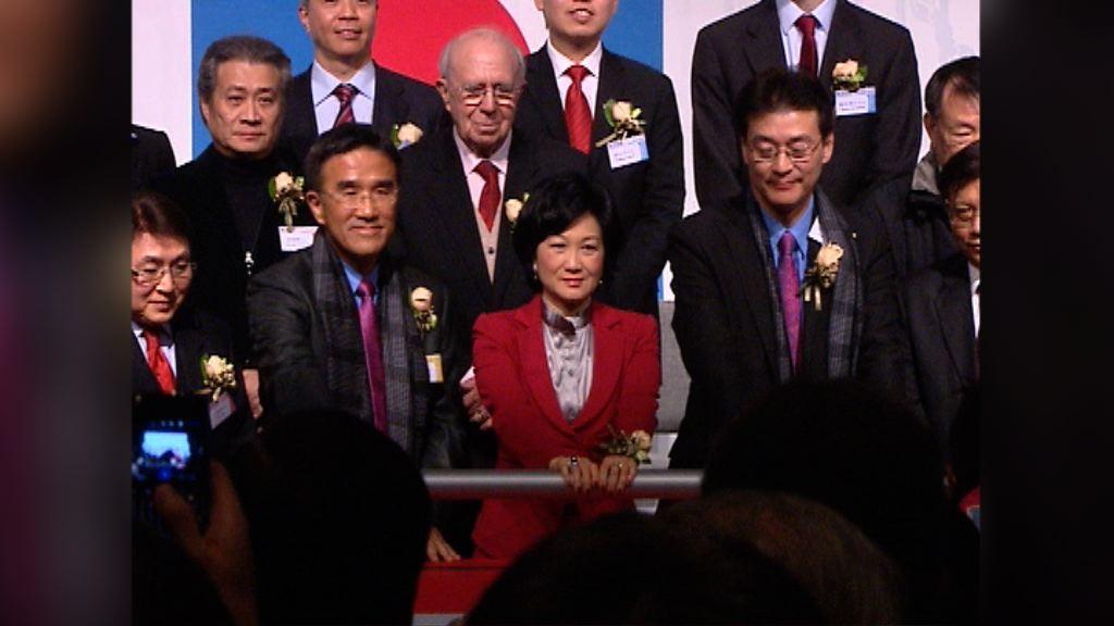 葉劉淑儀上屆曾表態參選特首但不夠提名票