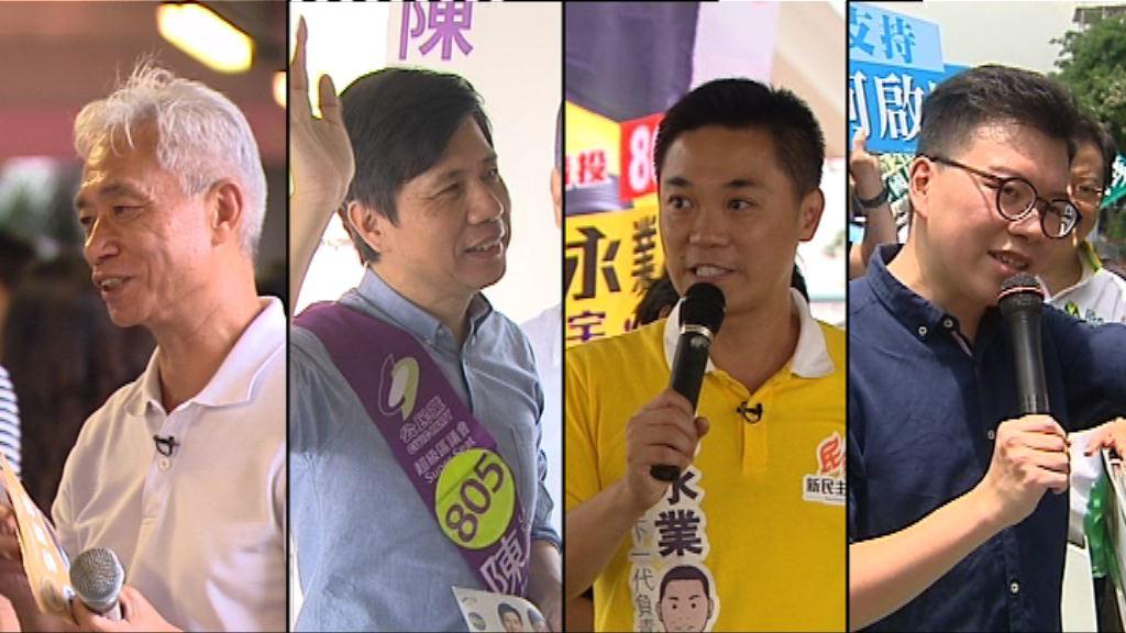 【超級區議會選情】泛民民調上仍未穩守三席