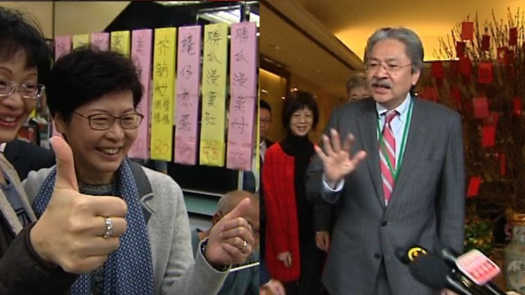 唐英年:支持所有行政長官選舉參選人