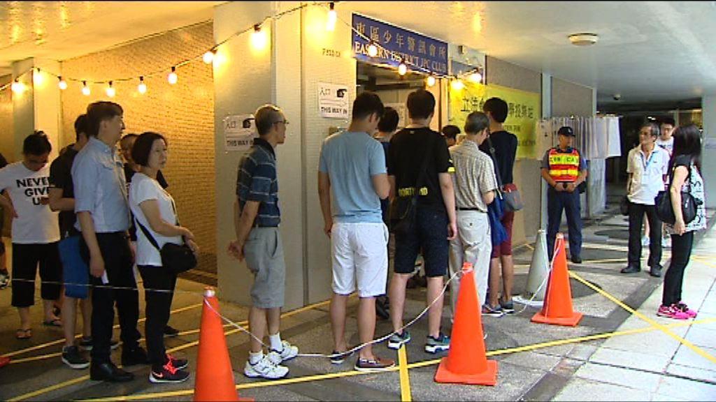 補選周日舉行 選民須帶同身份證
