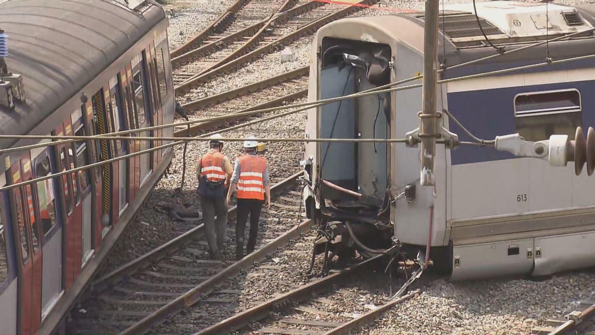 紅磡站出軌事故 機電署初步排除由外物或惡意破壞所致