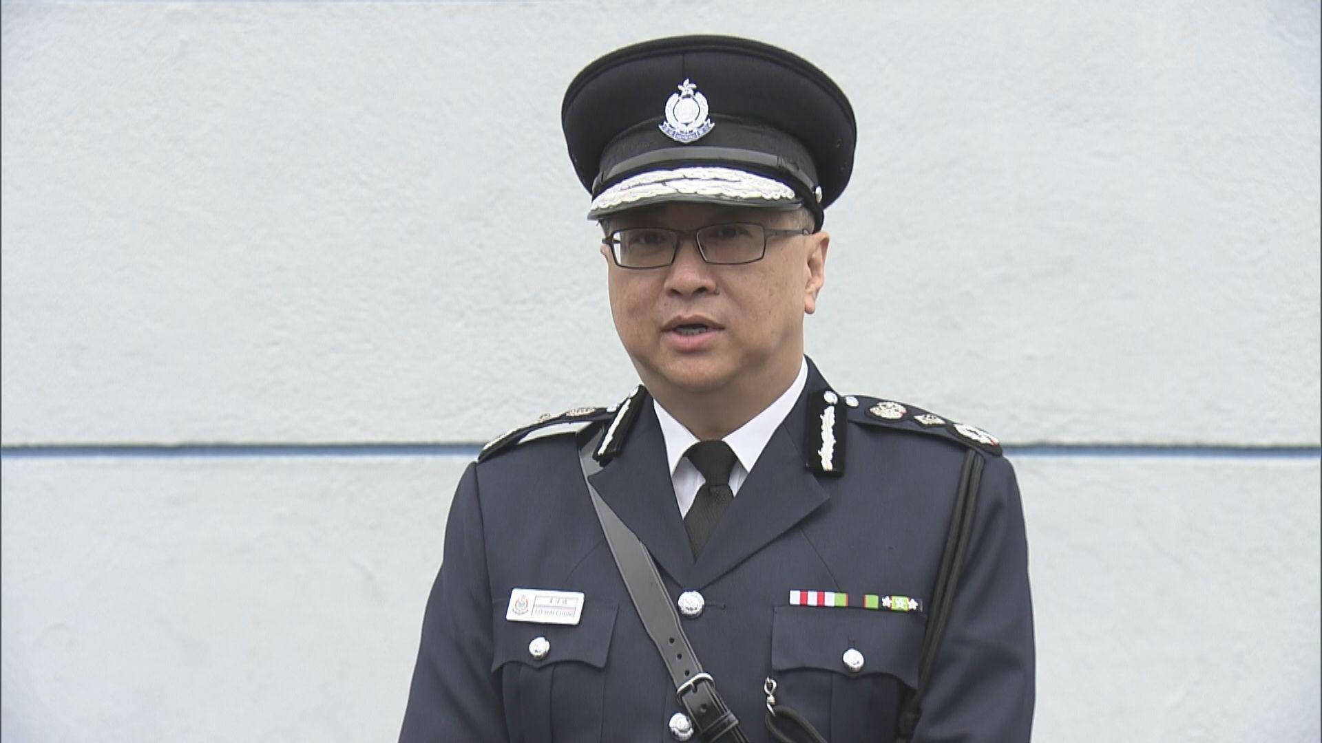 盧偉聰:深水埗女警開槍符合指引