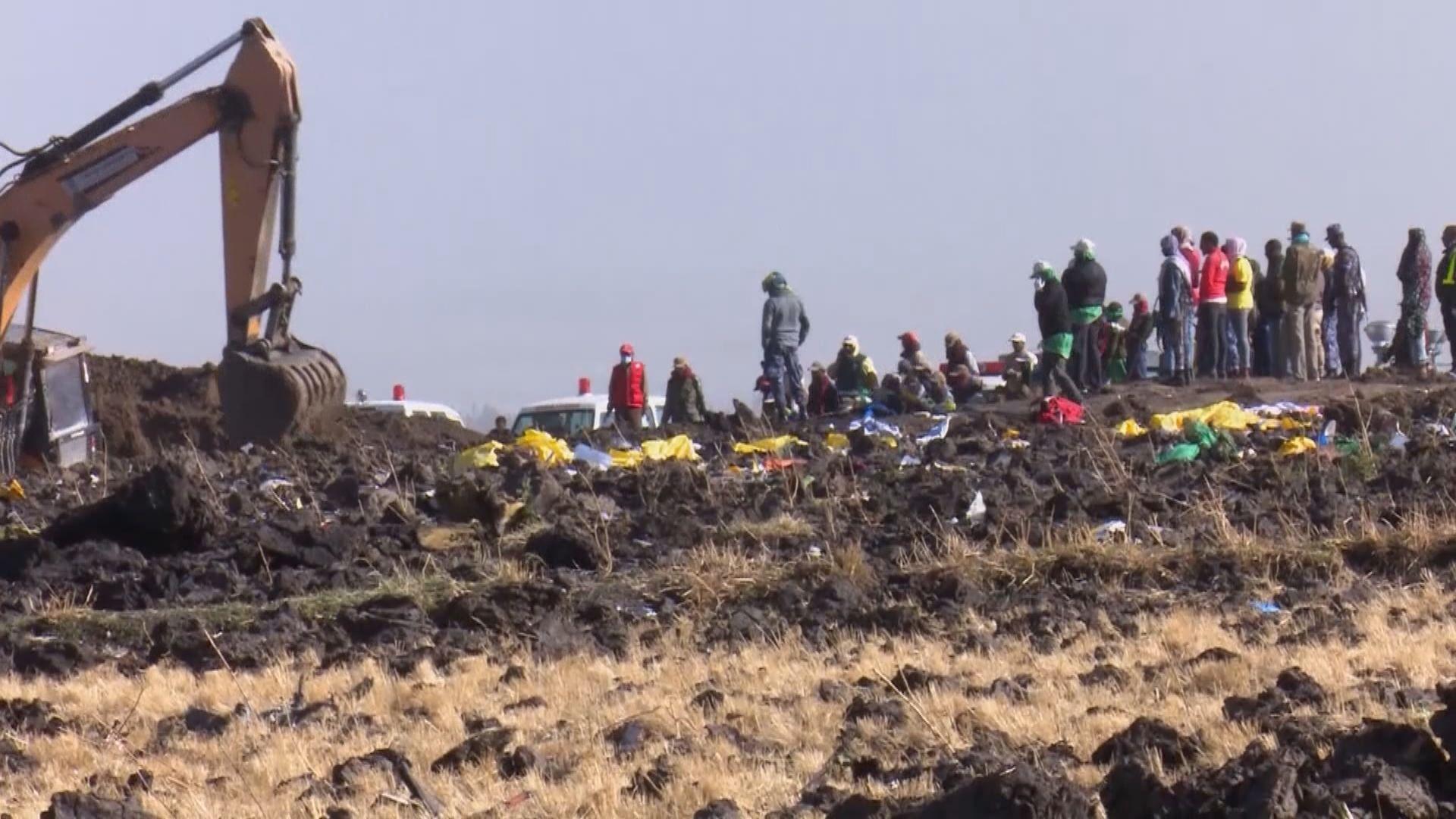 埃塞俄比亞空難 料遺體辨認需時半年