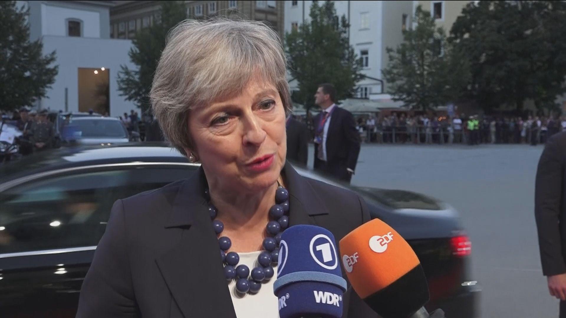 文翠珊促歐盟接受軟脫歐方案