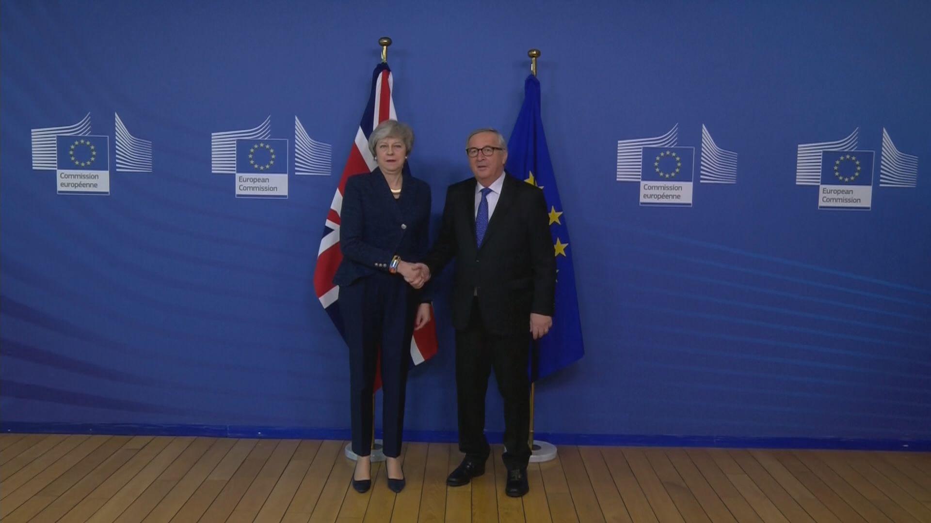 文翠珊尋求歐盟同意修改脫歐協議