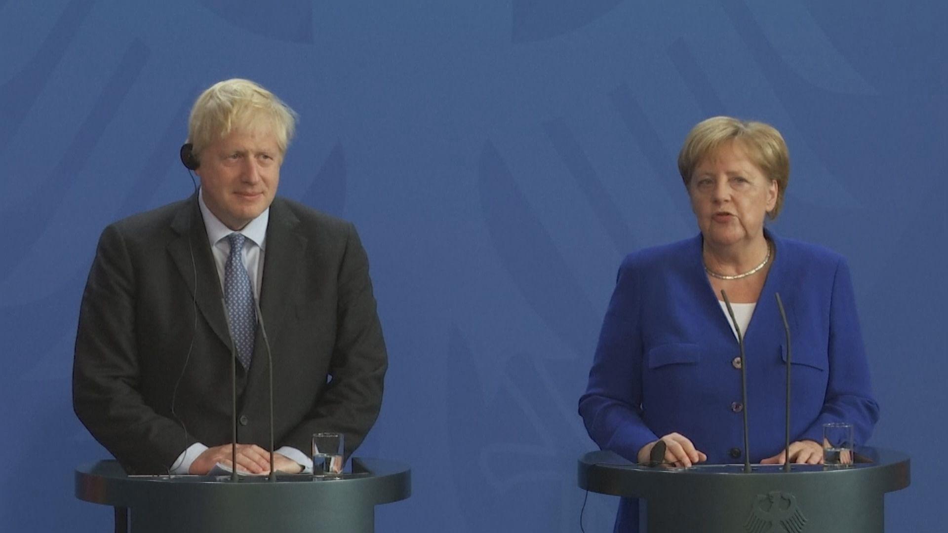 英方:默克爾認為達成脫歐協議極不可能