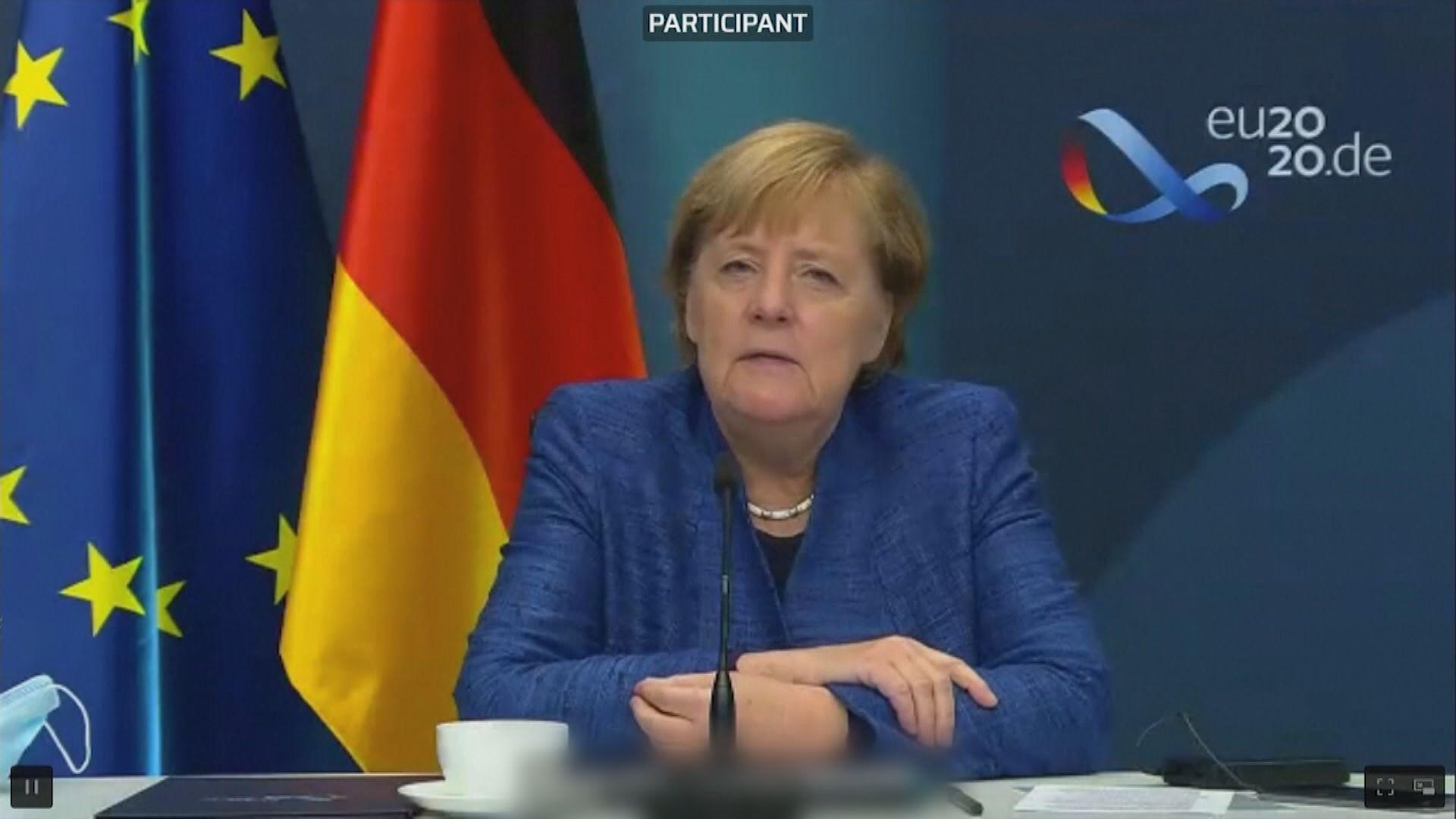 默克爾:要為英國無協議脫歐做好準備