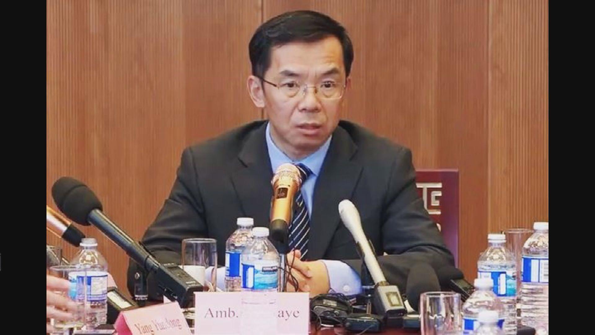 德法傳召中國大使抗議反制裁措施