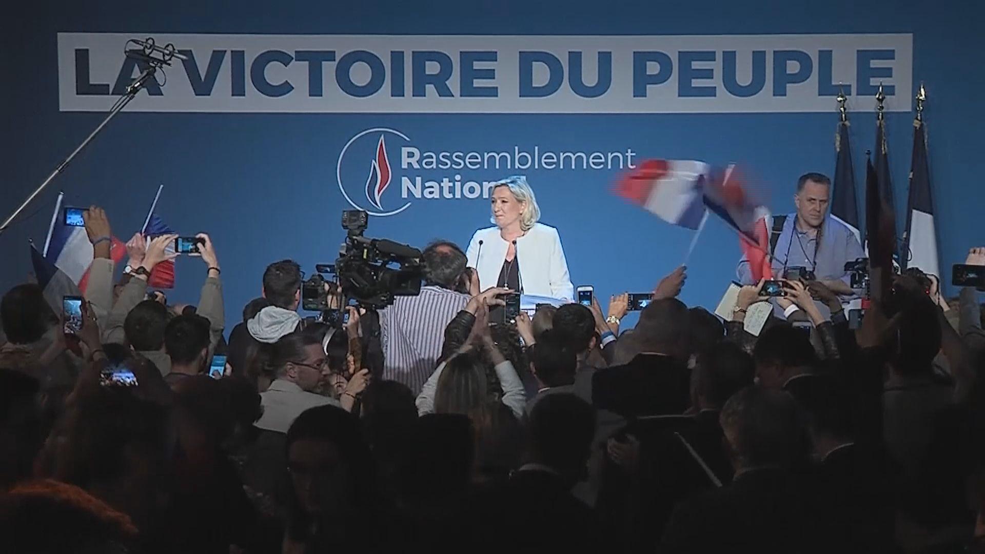 歐洲議會選舉 疑歐派和極右政黨議席有進帳