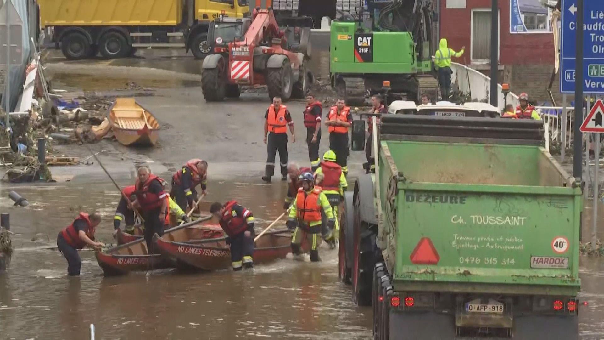 西歐暴雨成災逾150人死亡 德國憂死亡人數續升