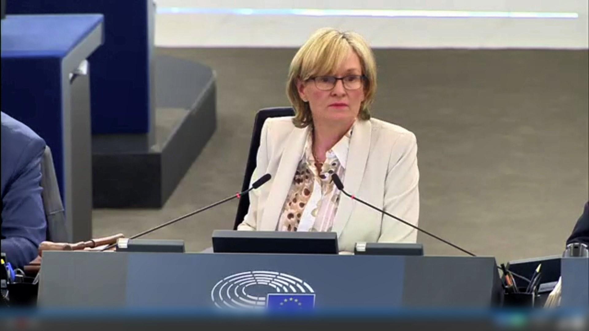 歐洲議會促請港府撤回修訂逃犯條例