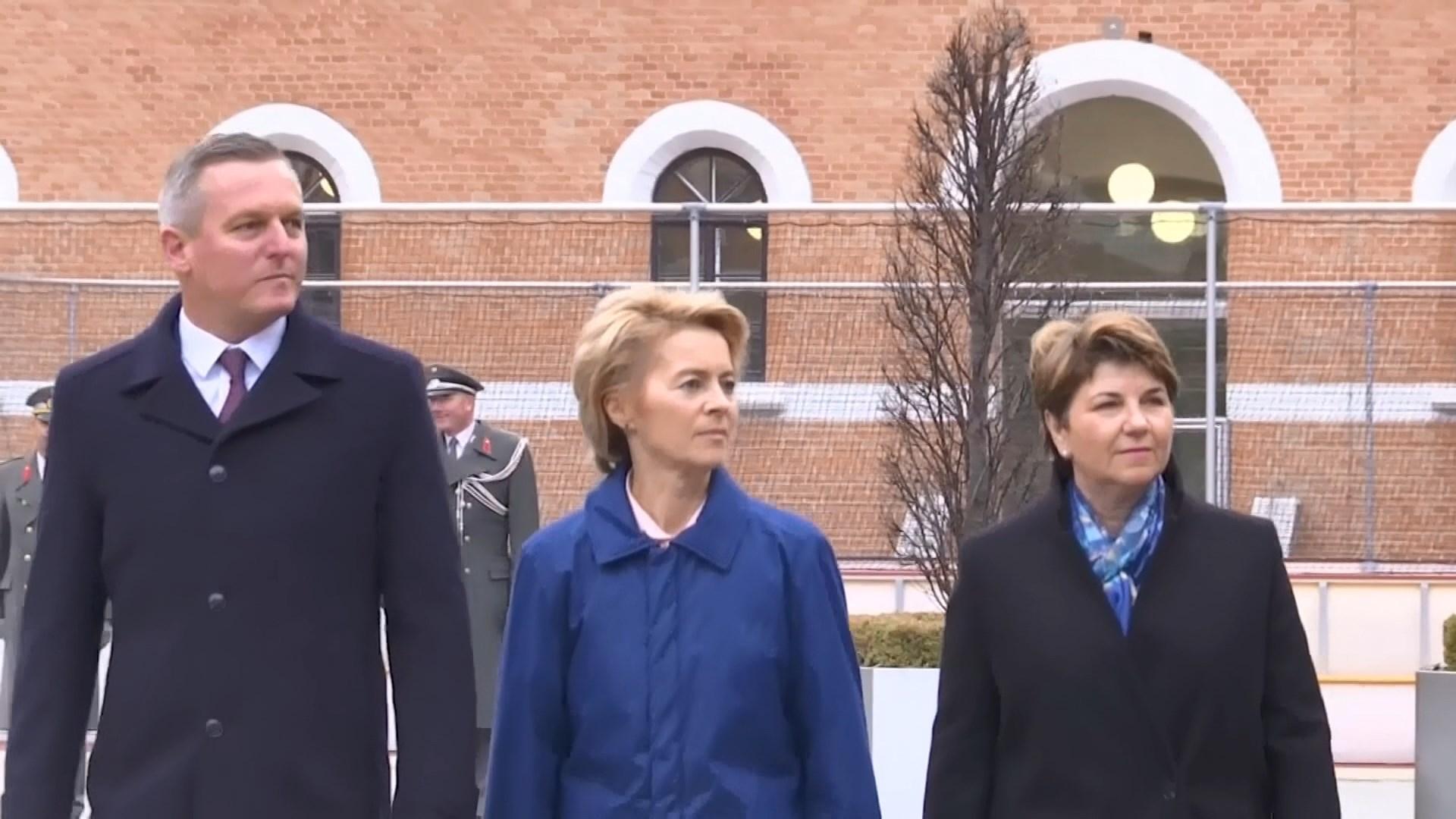 德國防長馮德萊恩獲提名出任歐盟委員會主席