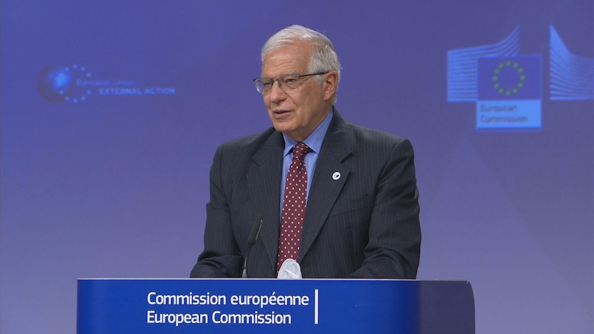 博雷利:歐盟與俄羅斯的關係只會愈來愈差