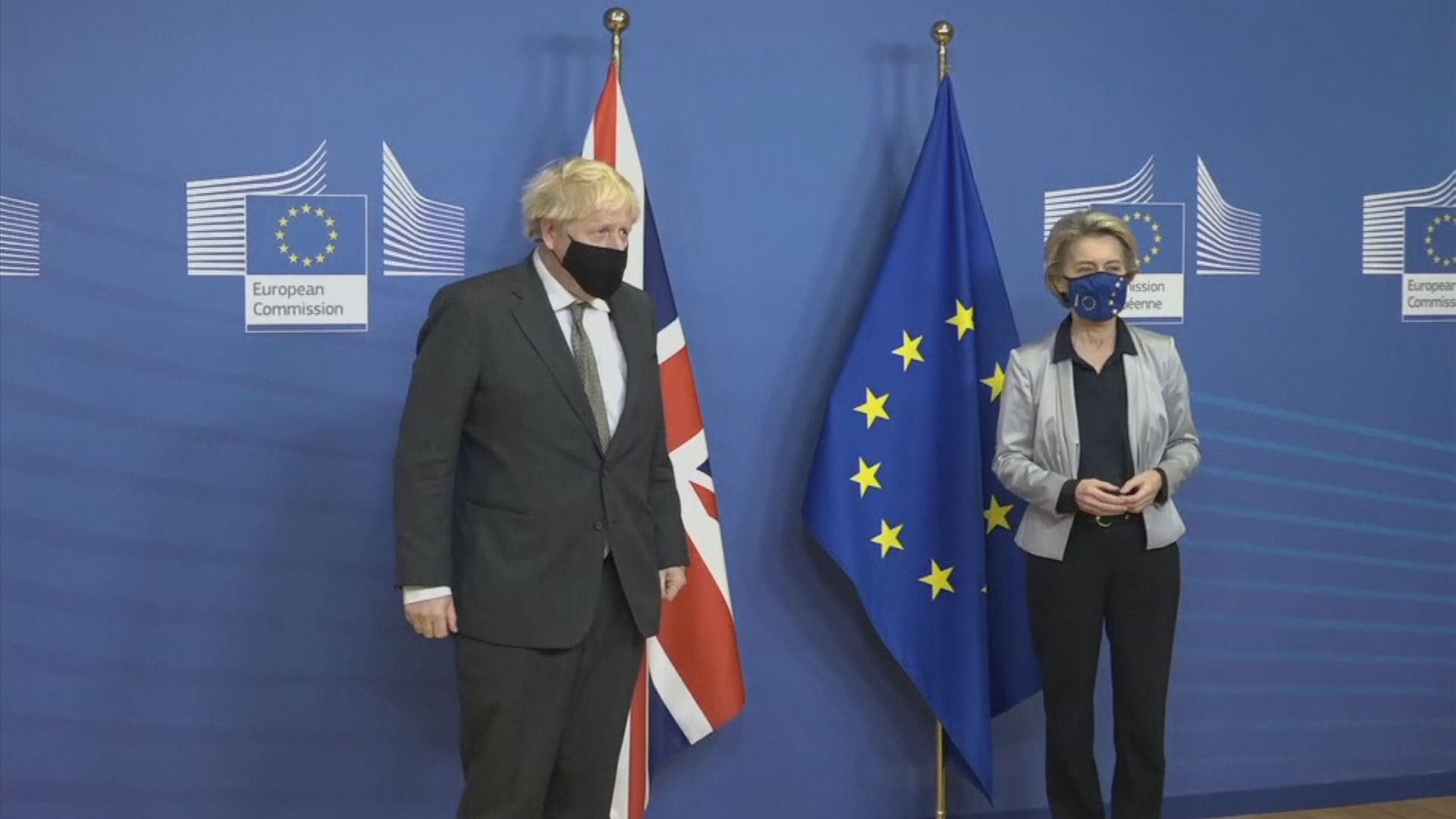 英國與歐盟就脫歐貿易談判未有突破