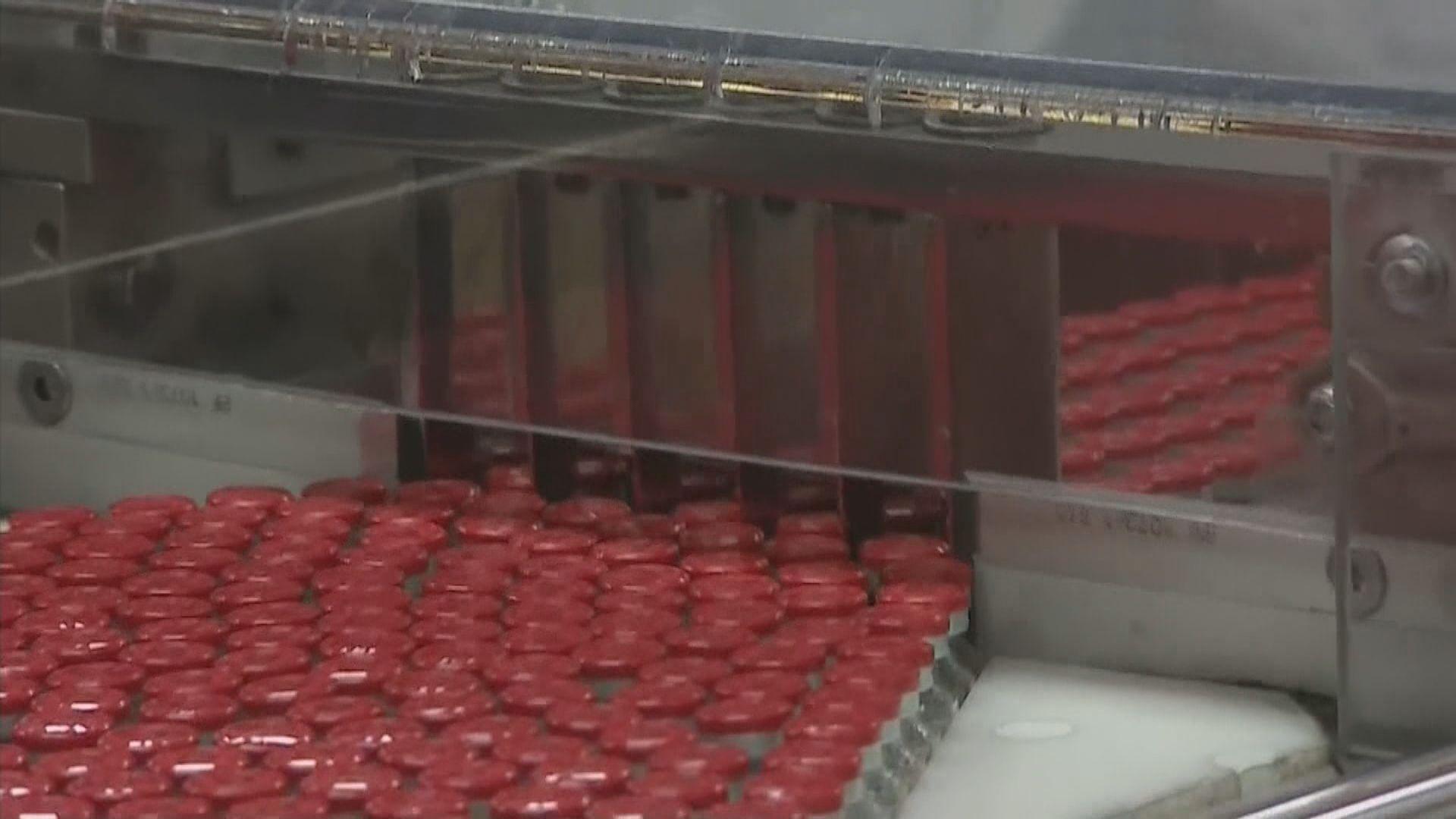 歐盟促阿斯利康履行供應承諾 從英國廠房撥疫苗予歐洲