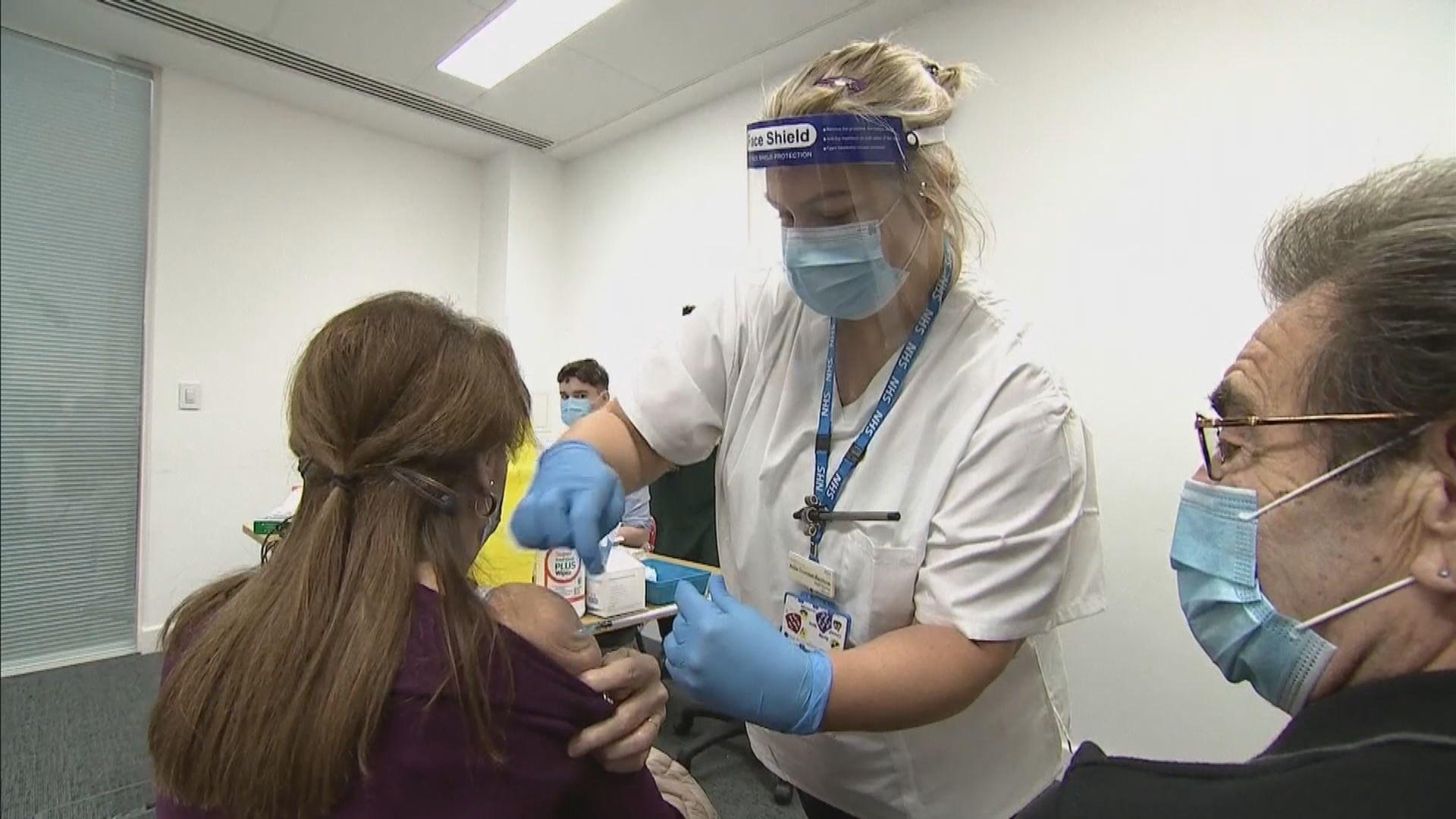 英國引入莫德納疫苗 首劑在威爾士接種