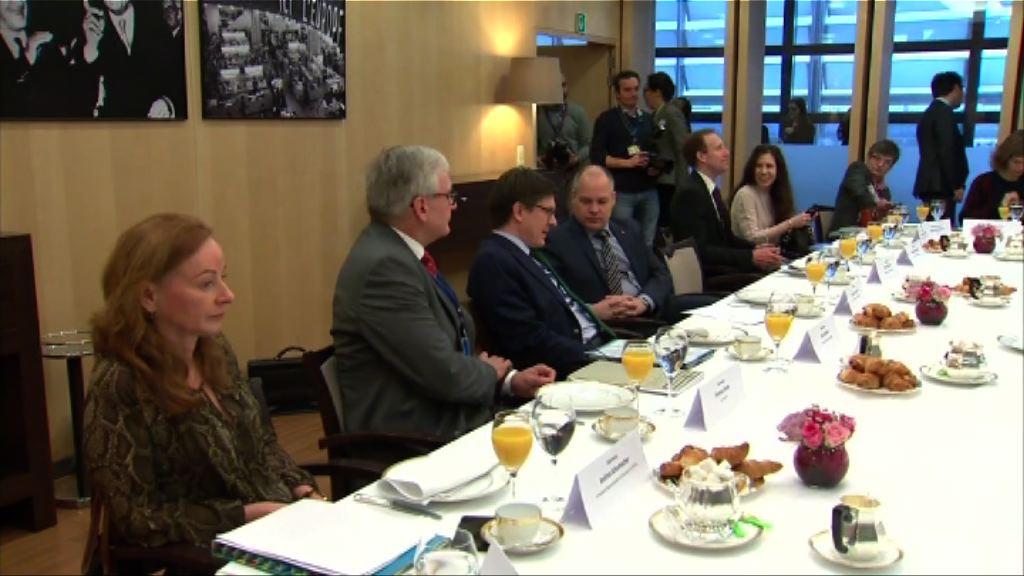 歐盟與德、丹、瑞典會談應對難民潮