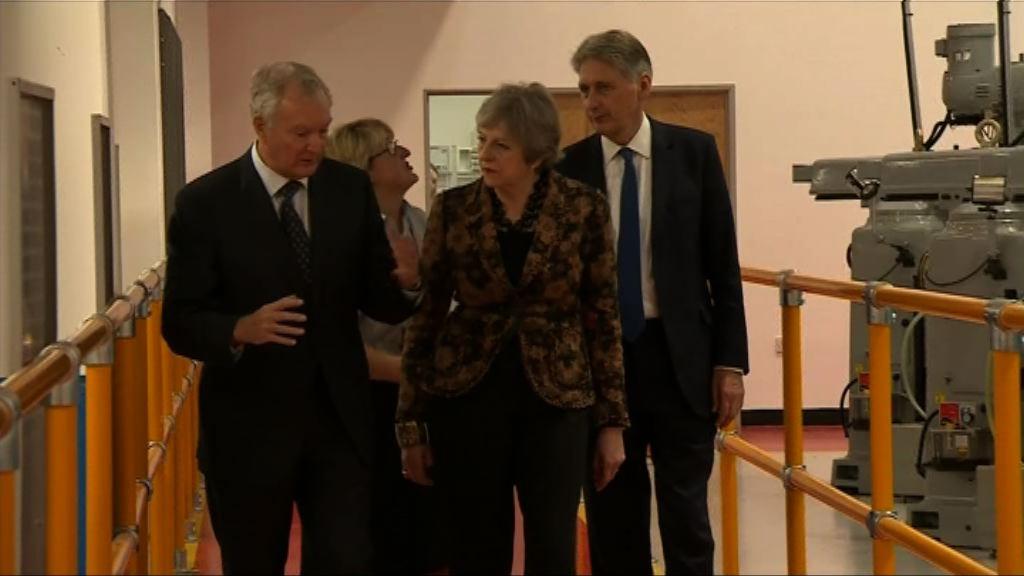 文翠珊稱脫歐談判取得進展