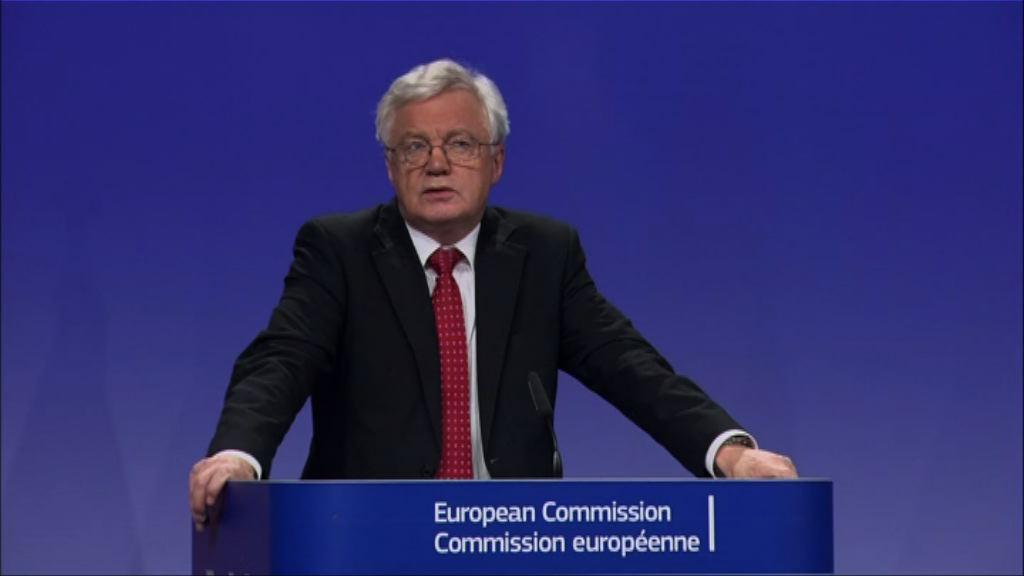 脫歐談判 英國促歐盟先討論貿易議題