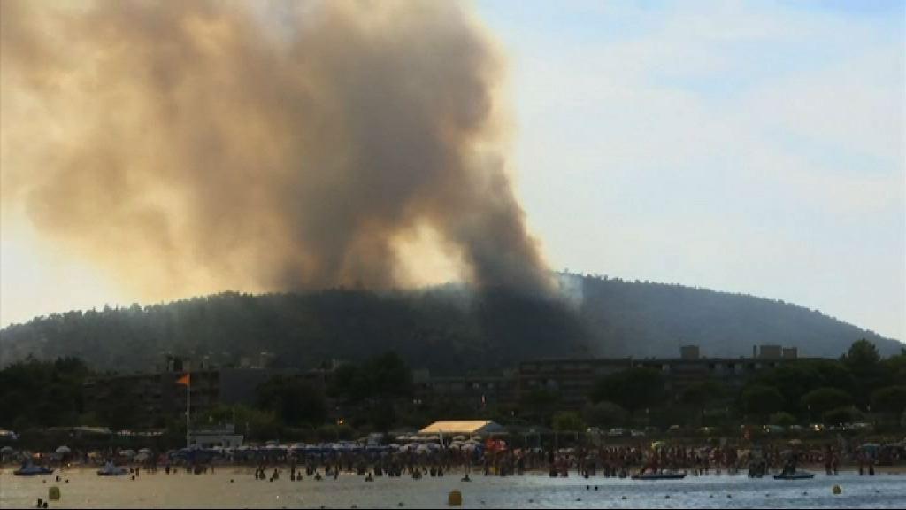 歐洲持續乾燥 多國山林大火蔓延