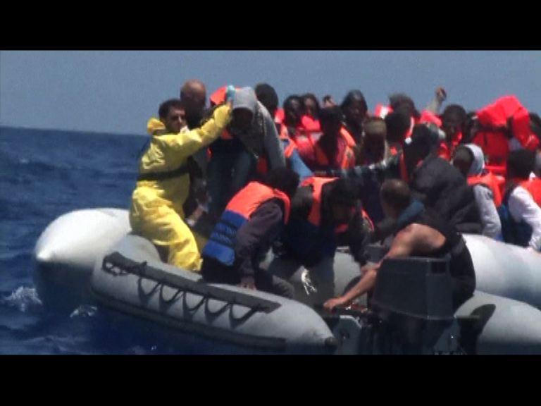地中海難民持續 數百人獲救
