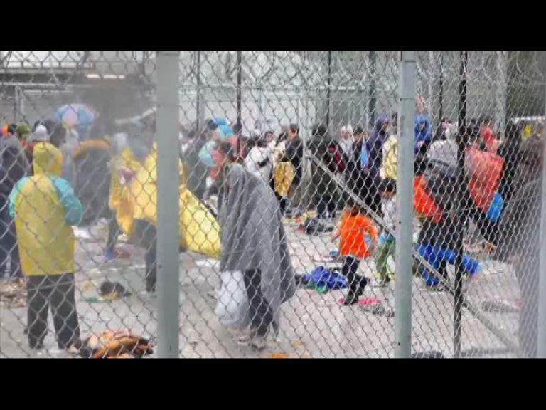 難民繼續取道希臘前往西歐