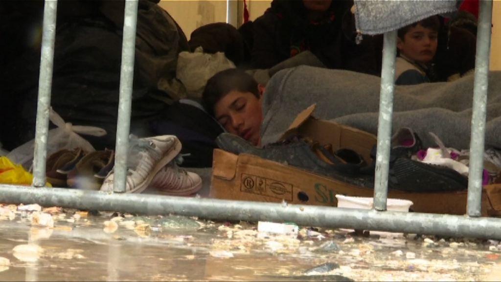 巴爾幹路線關閉 難民滯留邊境