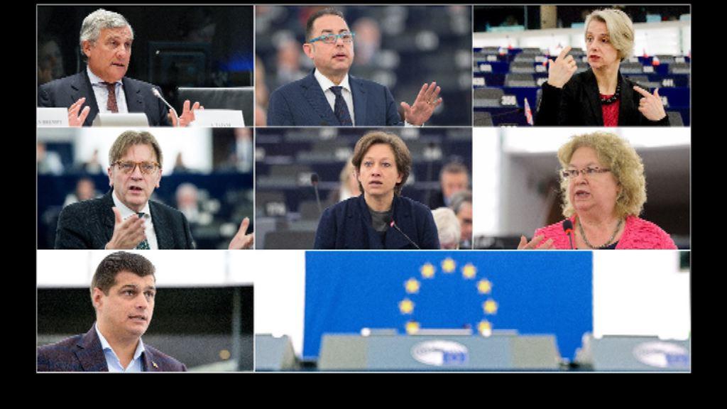 七人角逐歐洲議會議長一職