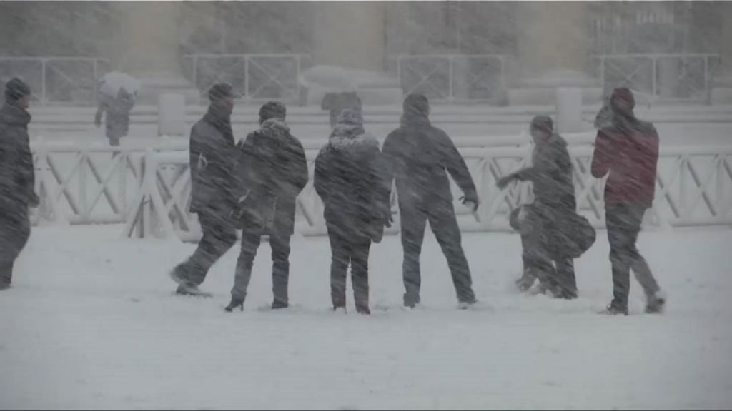 歐洲多地出現嚴寒天氣 多國學校停課