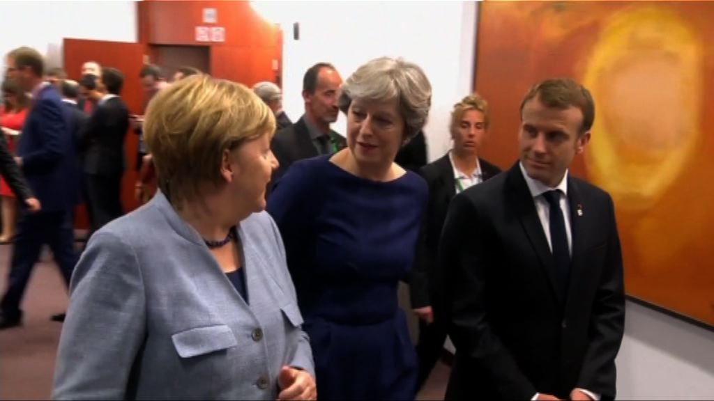 文翠珊冀歐盟為脫歐談判掃除障礙