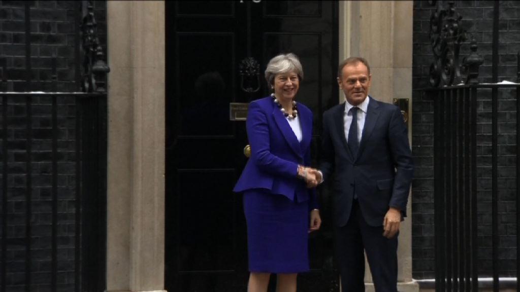 圖斯克稱英國與歐盟難免有貿易摩擦