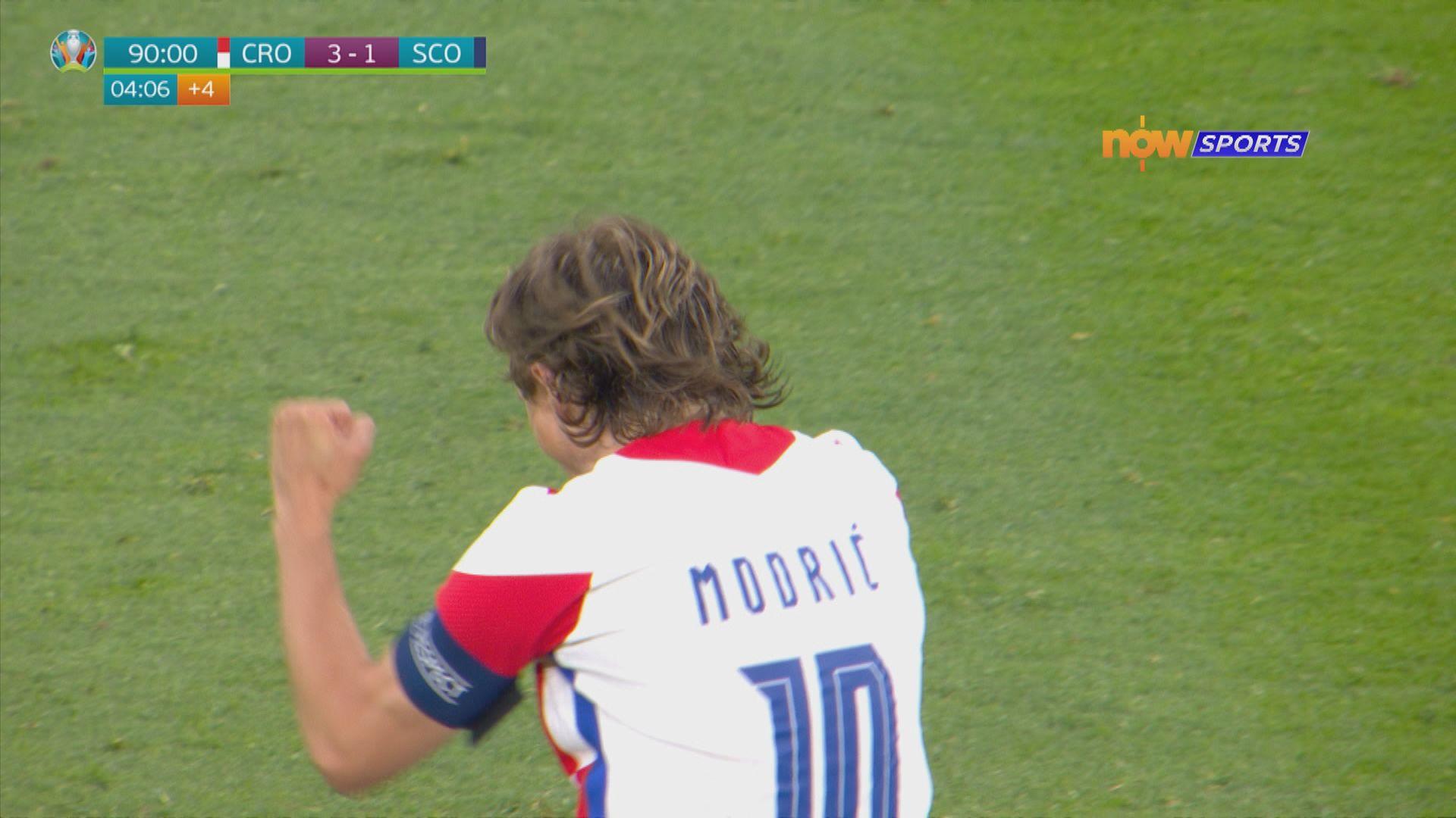 歐國盃 克羅地亞3:1蘇格蘭
