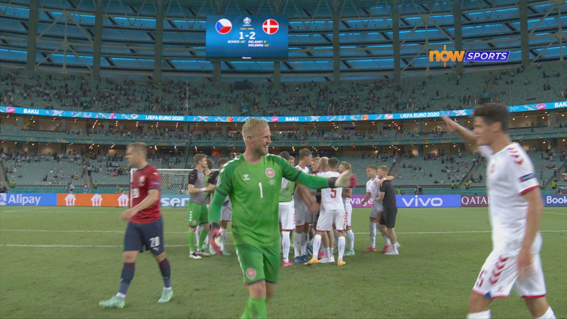 歐國盃 捷克1:2丹麥