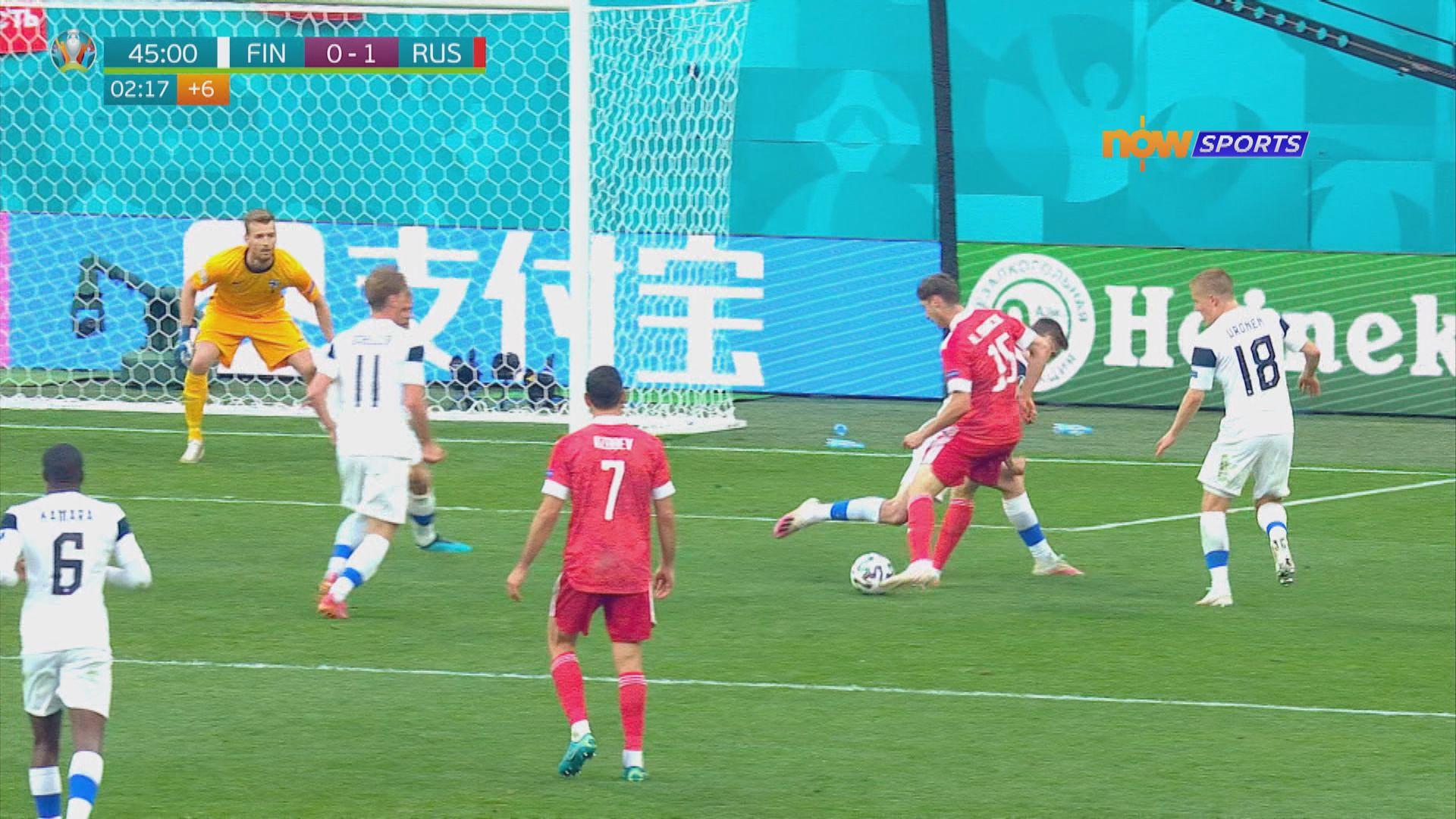 歐國盃 芬蘭0:1俄羅斯