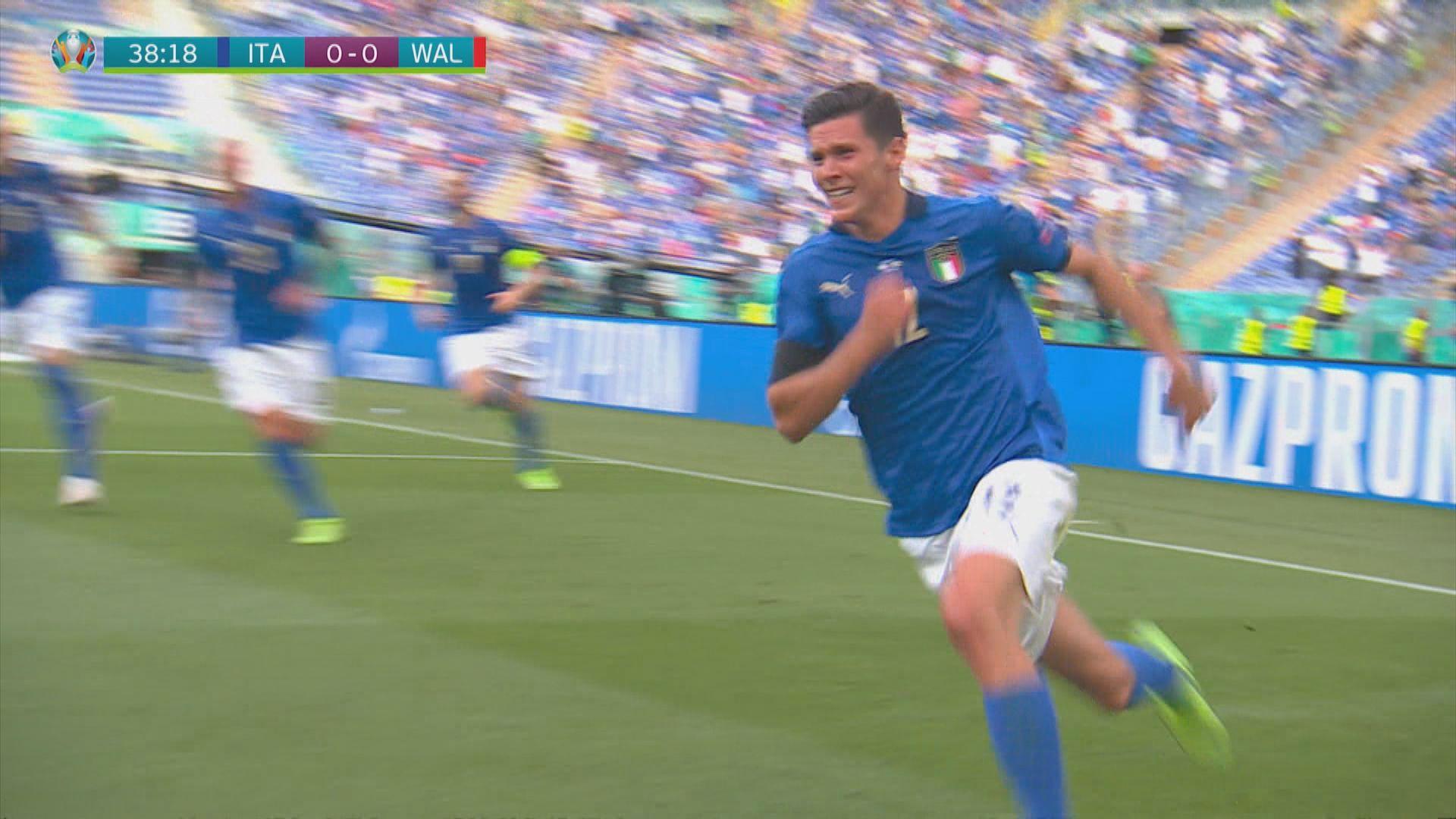 歐國盃 意大利1:0威爾士
