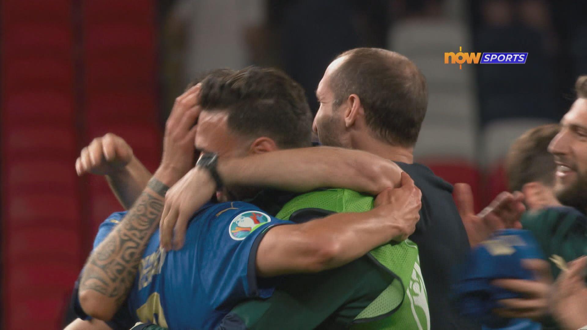 歐國盃16強 意大利2:1奧地利