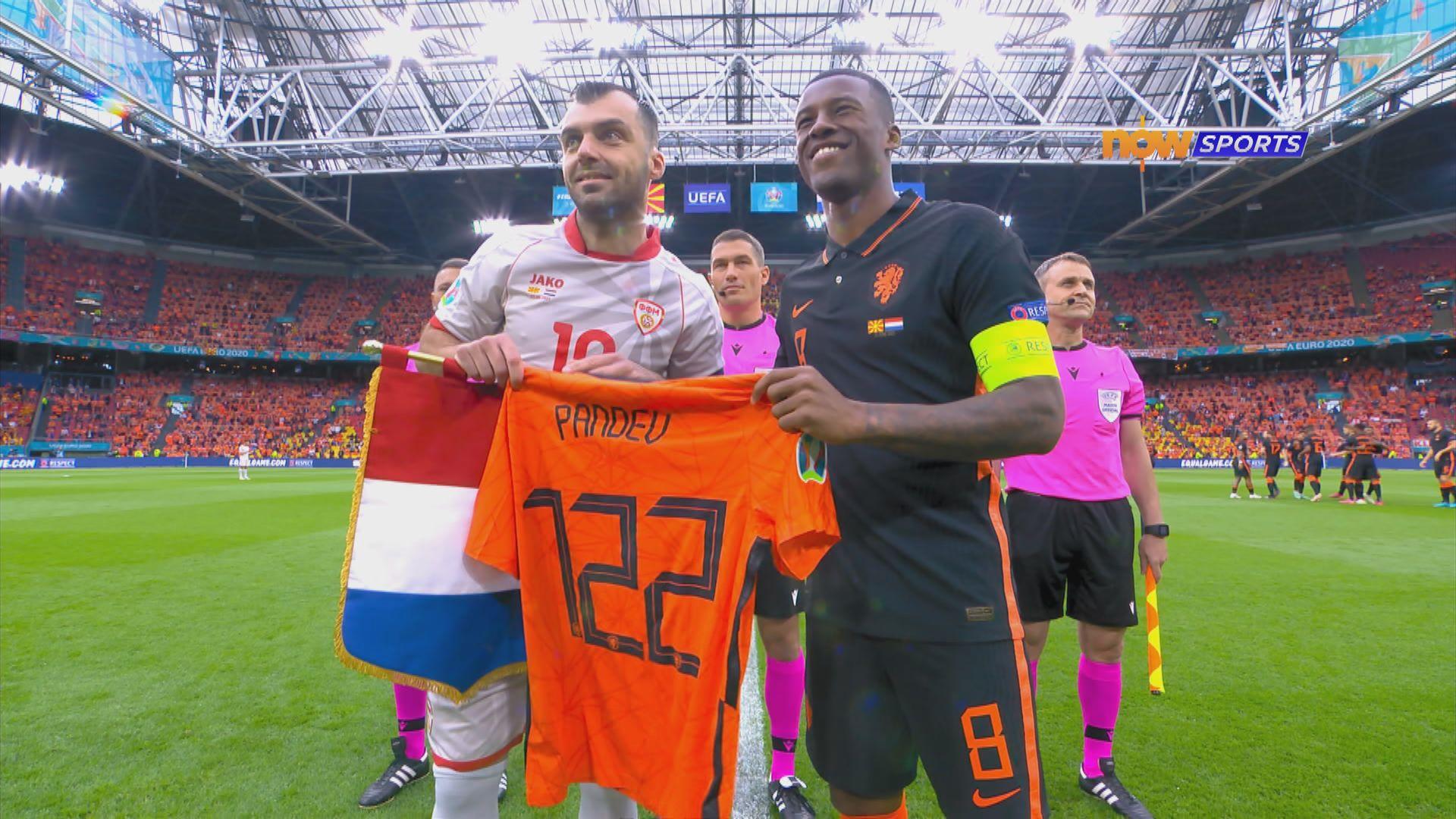 歐國盃 北馬其頓0:3荷蘭
