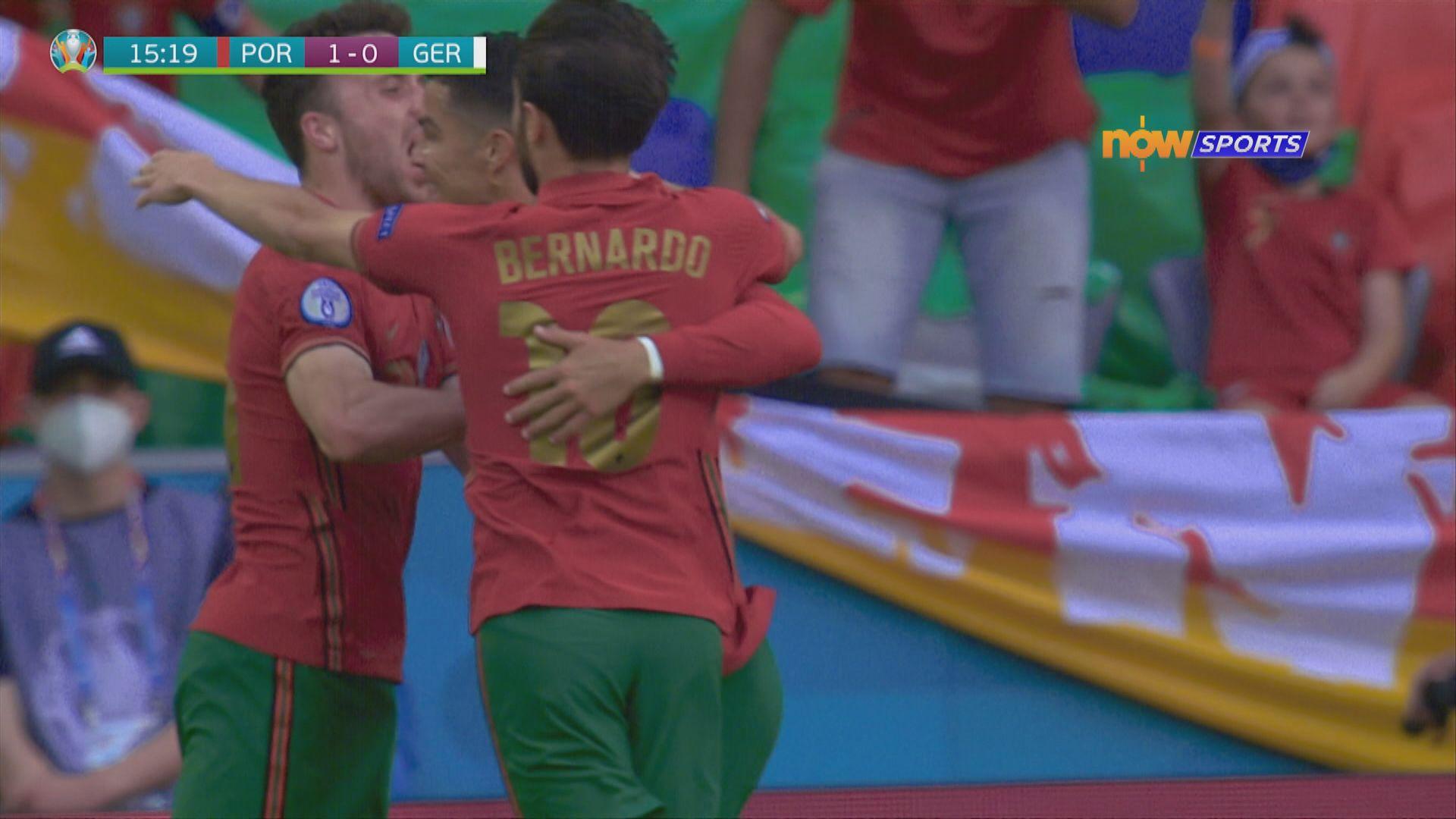歐國盃 葡萄牙2:4德國