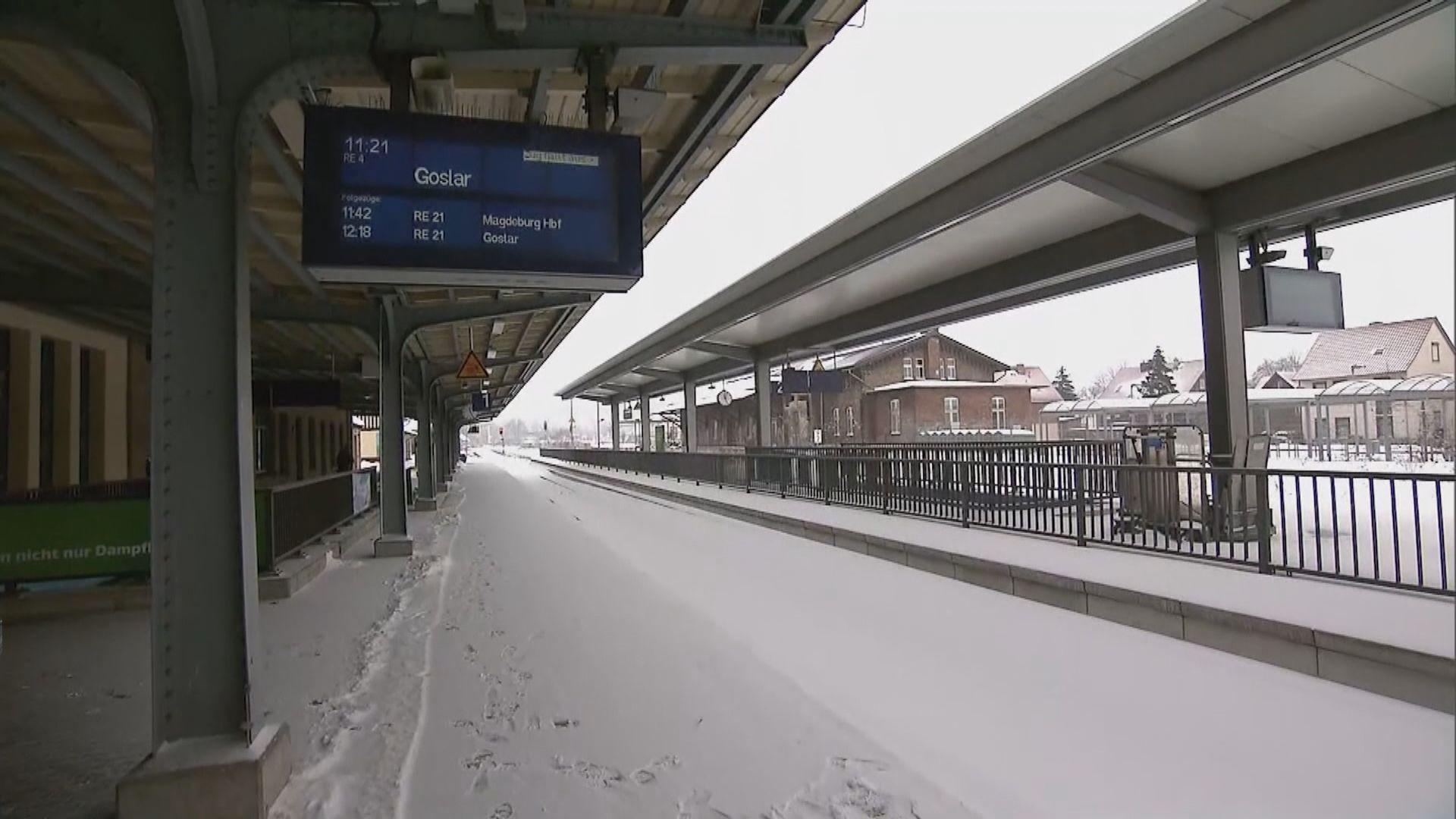 英、德、荷蘭等地受暴風雪吹襲 陸空交通受阻