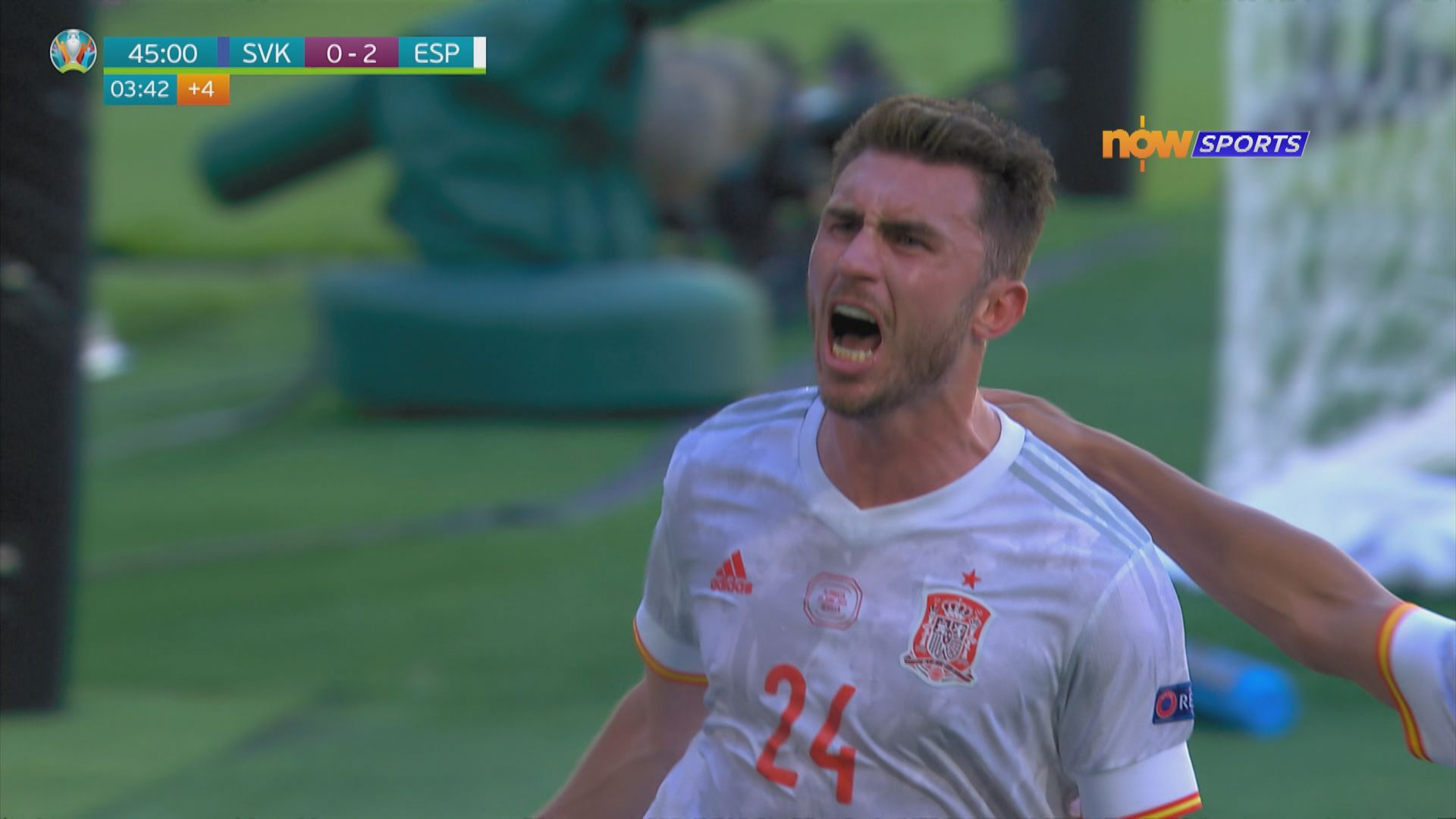 歐國盃 斯洛伐克0:5西班牙