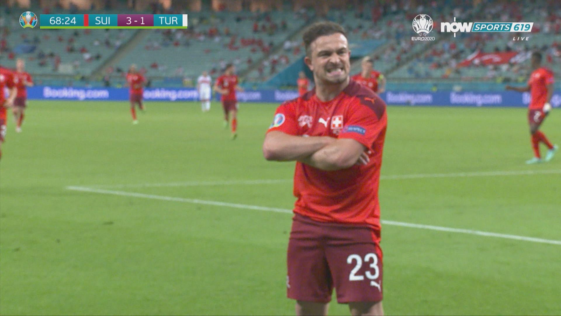 歐國盃 瑞士3:1土耳其