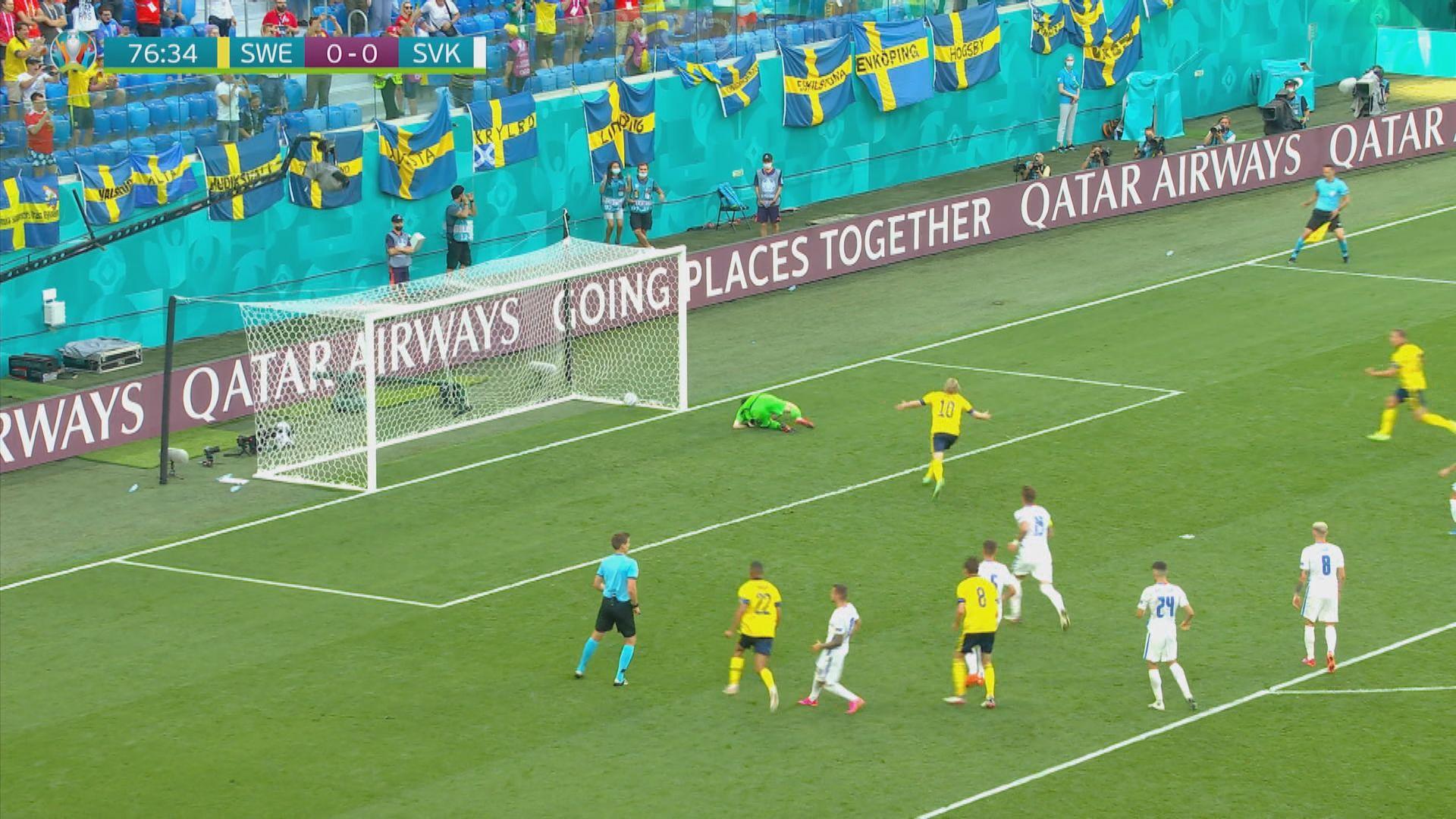 歐國盃 瑞典1:0斯洛伐克