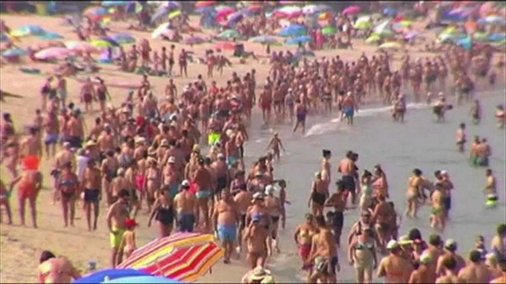 歐洲多國持續受熱浪侵襲