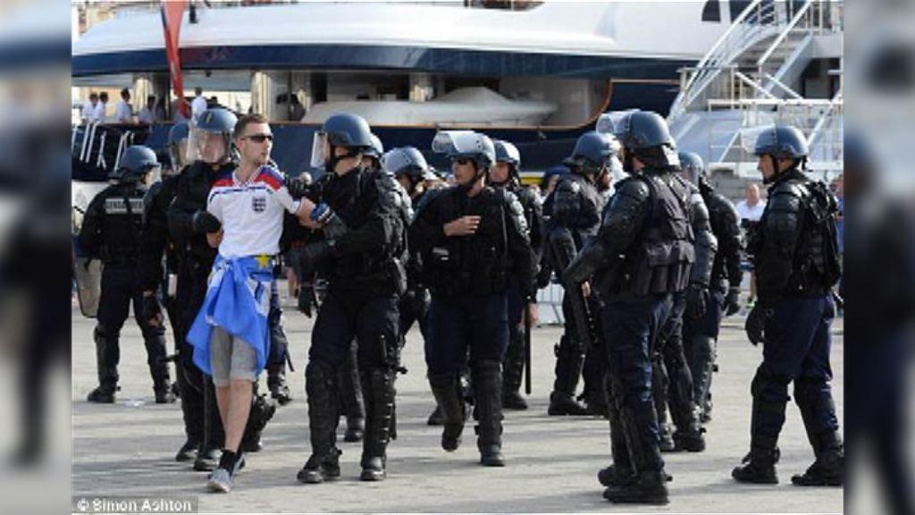 六名英國球迷涉馬賽衝突被判監