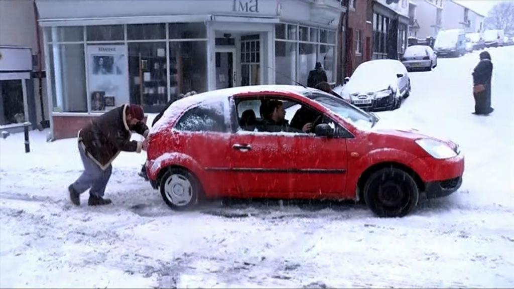 歐洲多國續有寒流風雪交加